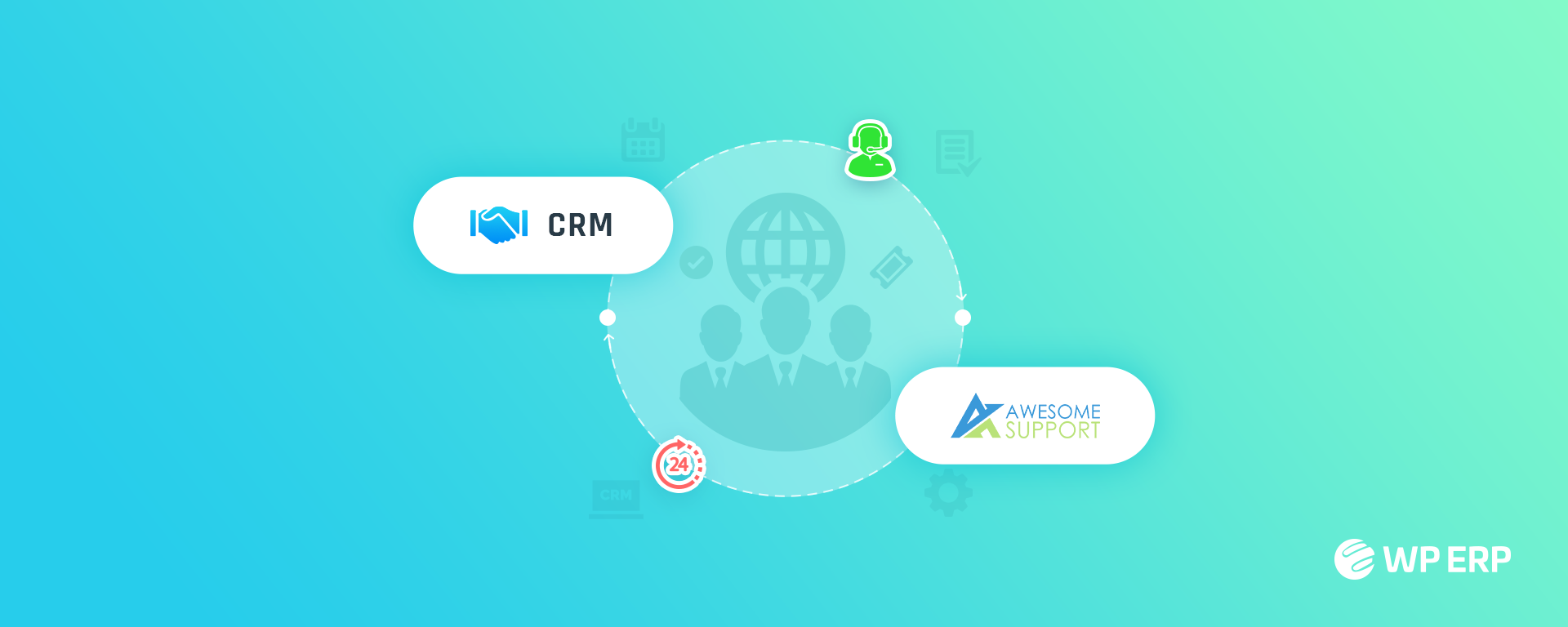 Awesome Support CRM
