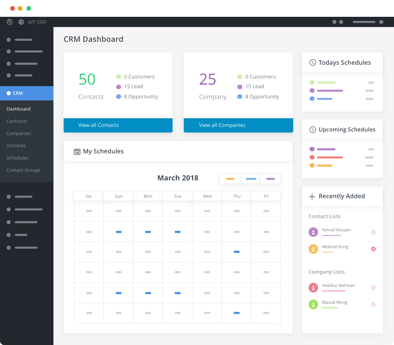 WP ERP- Complete HR, CRM and Accounting solution for WordPress