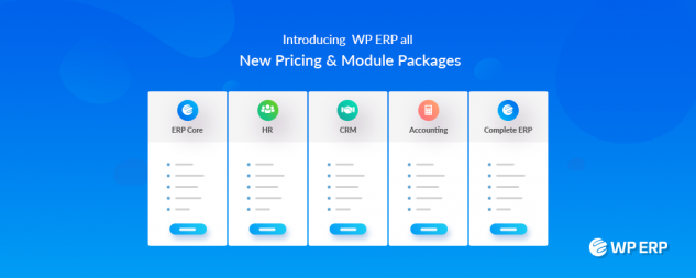 WP ERP Pricing
