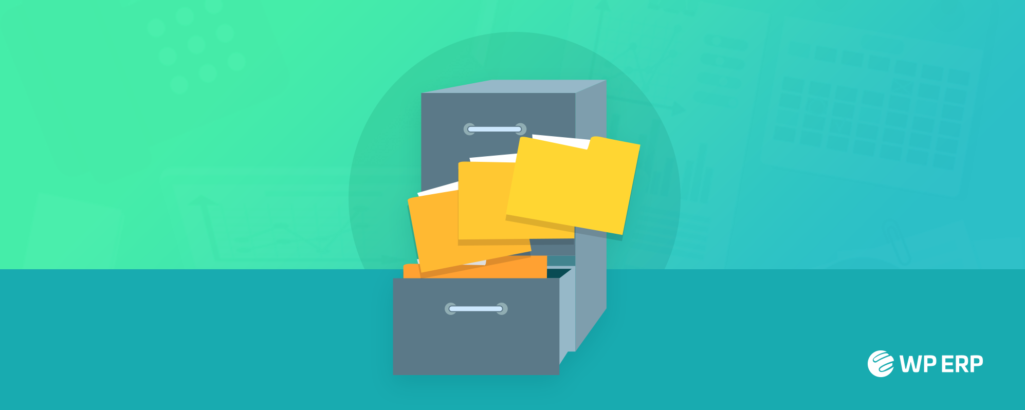 how to organize paper files at work