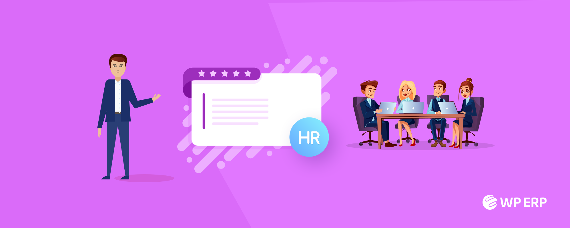 How to Give Feedback to Team Members Using The Best HR Management Tools - WordPress ERP