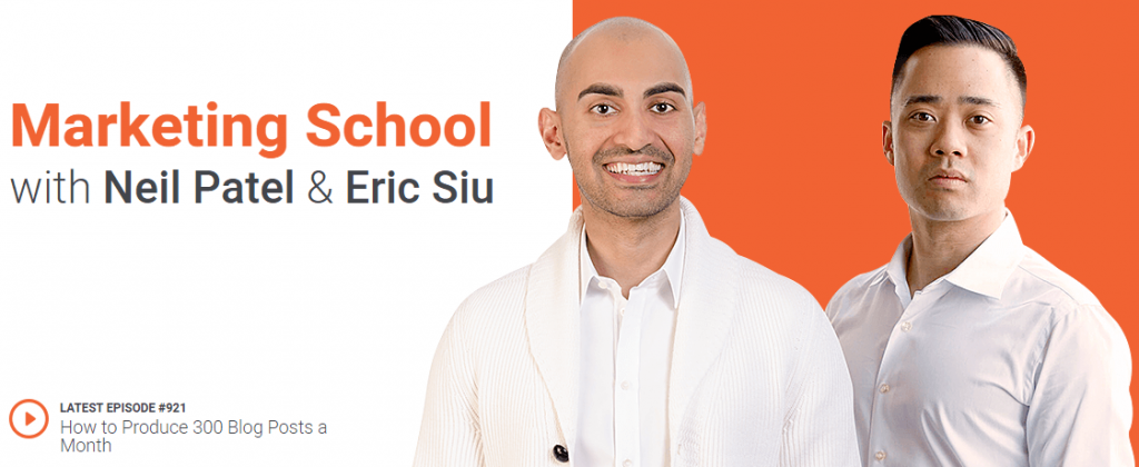 The marketing school- top business podcasts