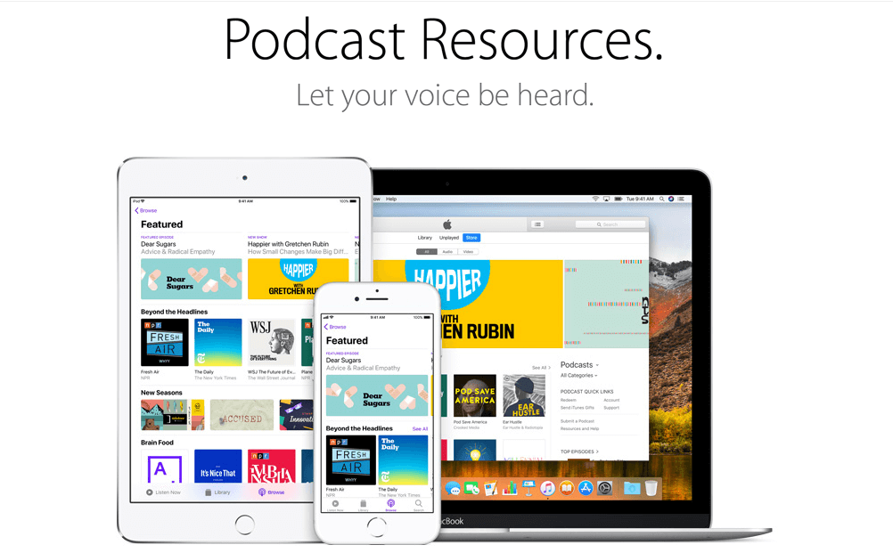 iTunes- top business podcast
