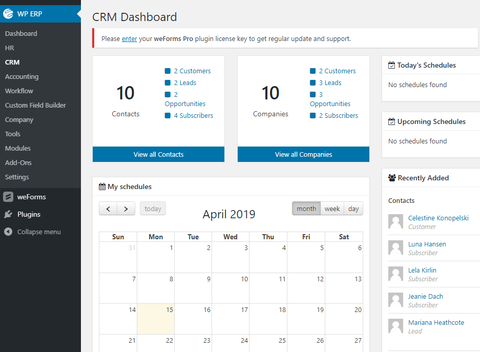 CRM dashboard- CRM implementation best practices