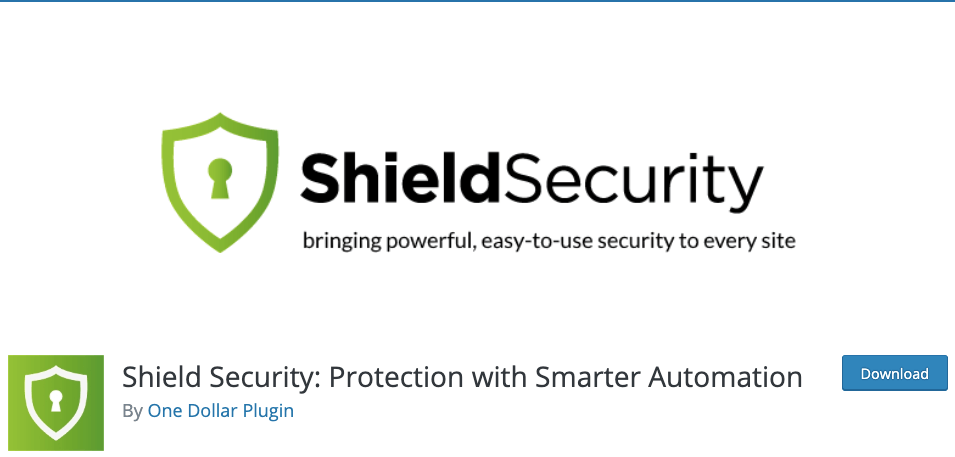 Shield security WordPress firewall