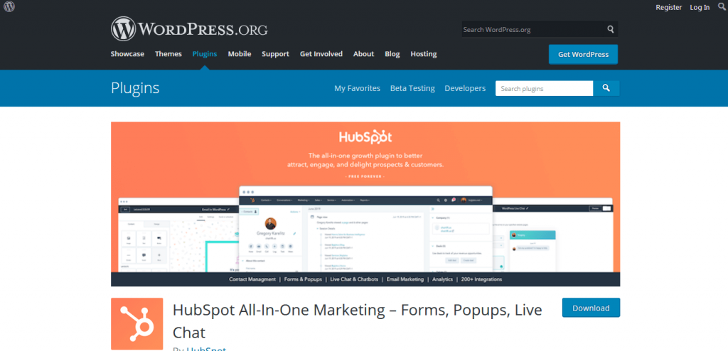 HubSpot all in one marketing