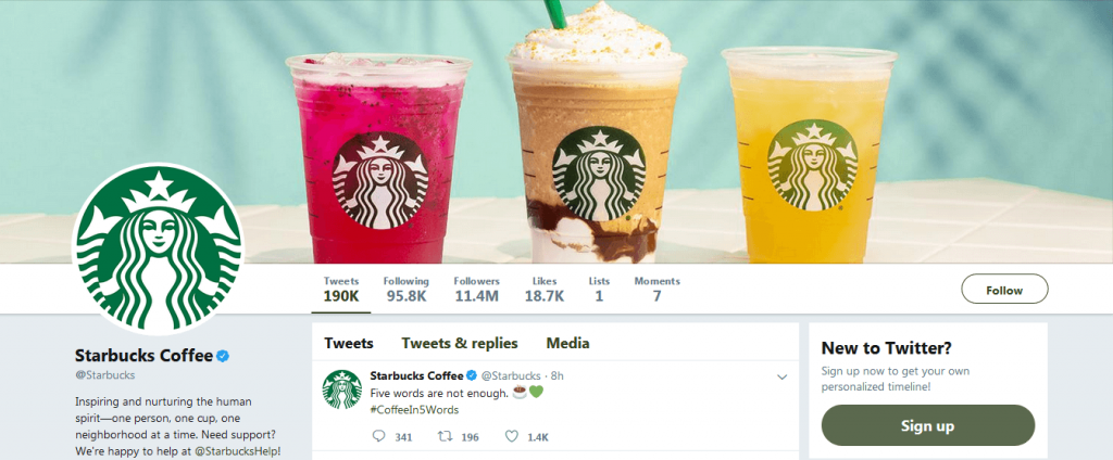 See how Starbucks ensured the best use of Twitter