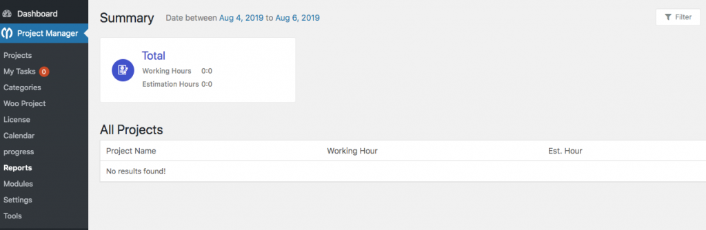 How to track progress of a project with summary report