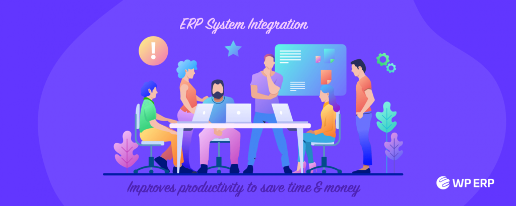 ERP integration Improves productivity