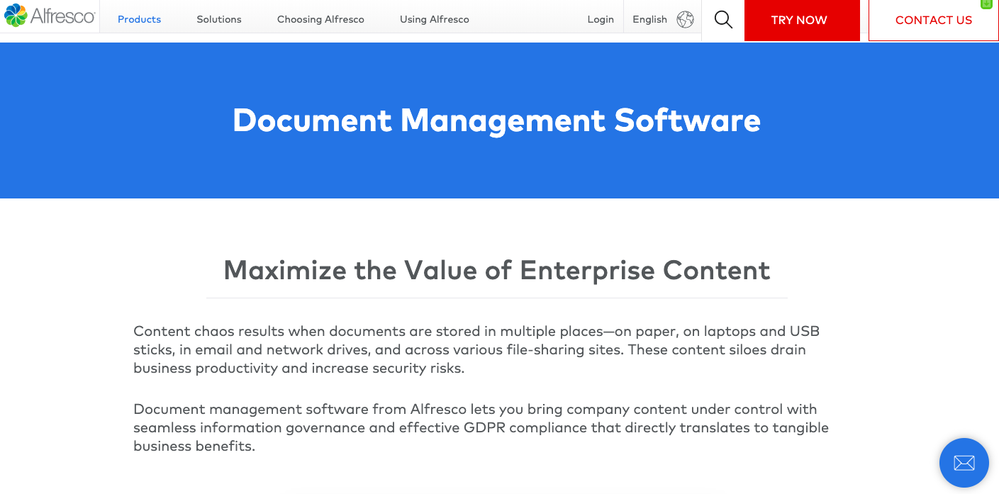 open source document management system
