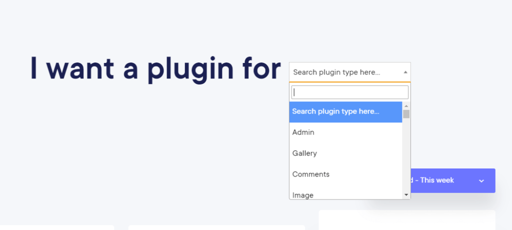 Finding plugin- WordPress Repository