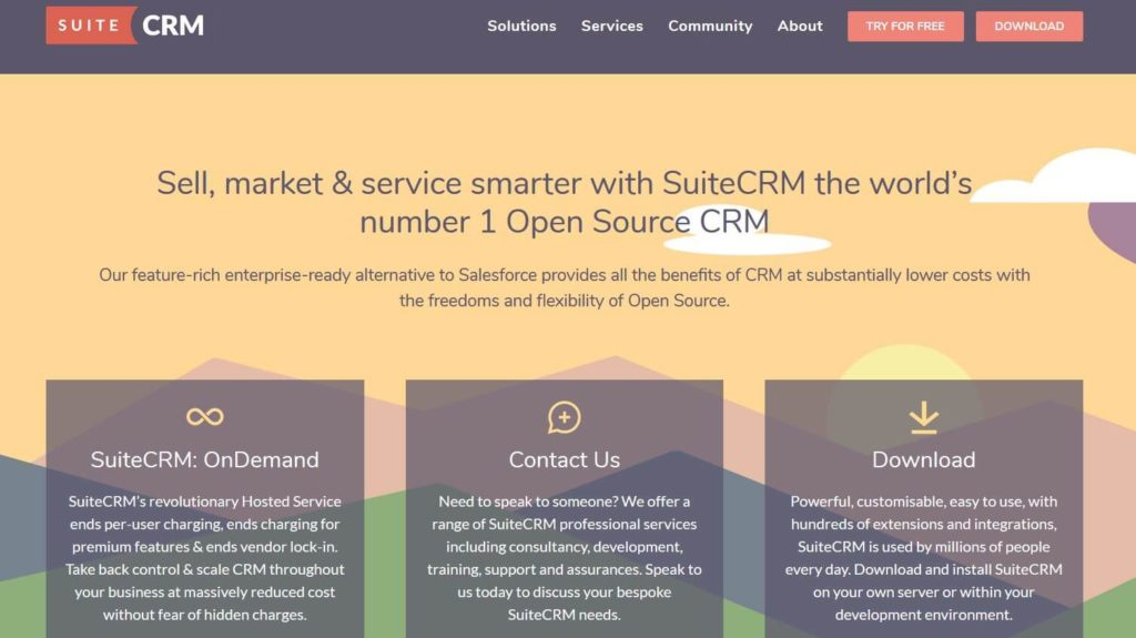 Feature rich SuiteCRM
