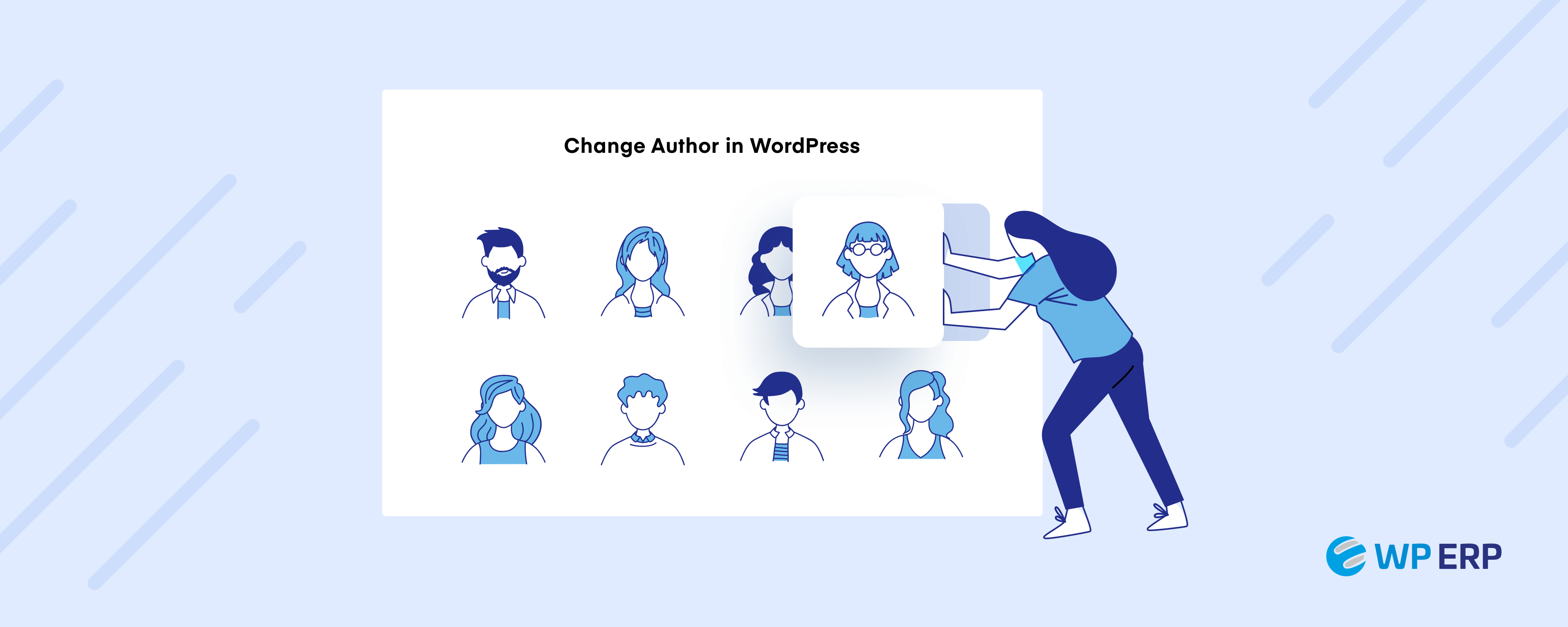 How to change author in WordPress