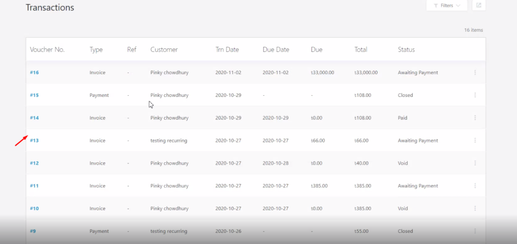 Accounting ERP order sync