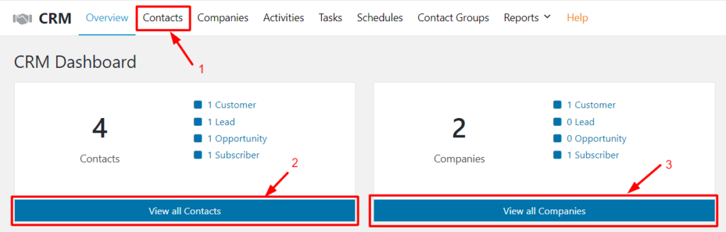 Add New Contacts in Your CRM