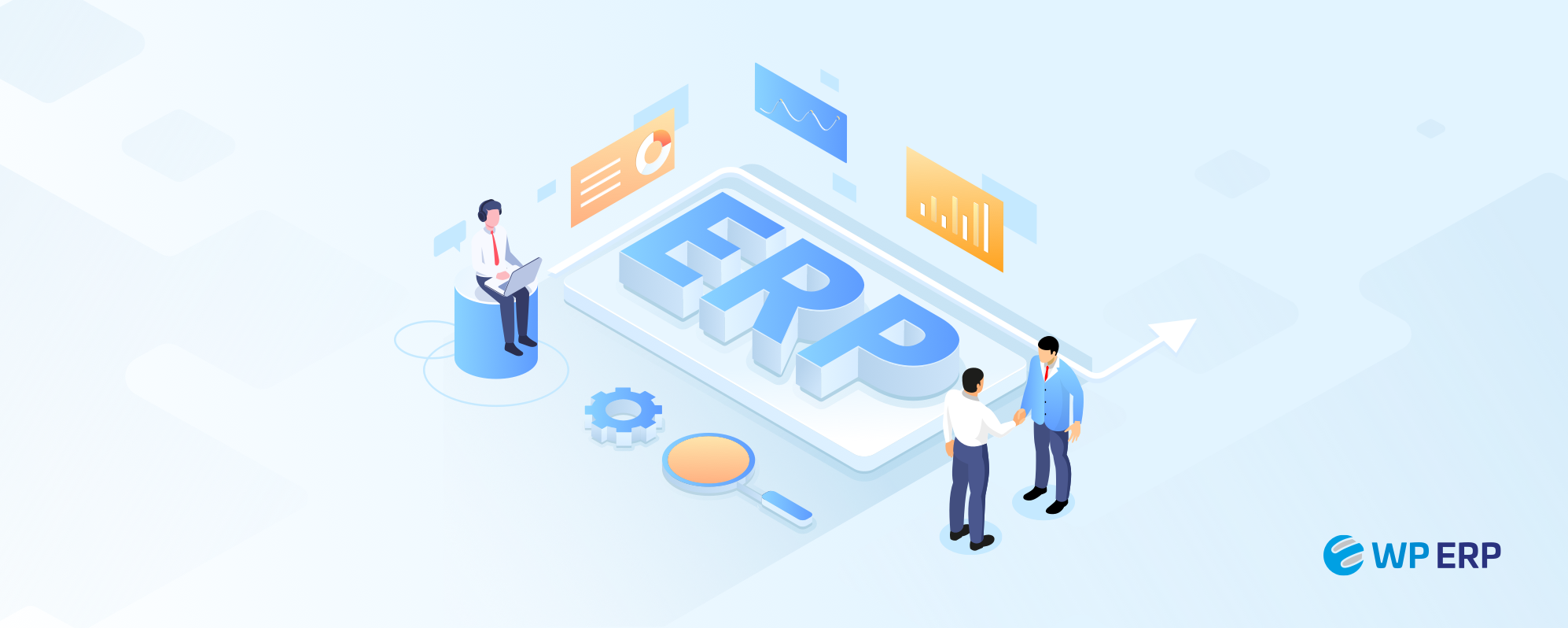 Business with ERP cover image