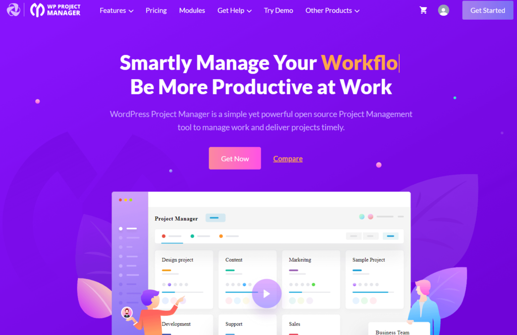 WP Project Manager- Smartly Manage Your Projects