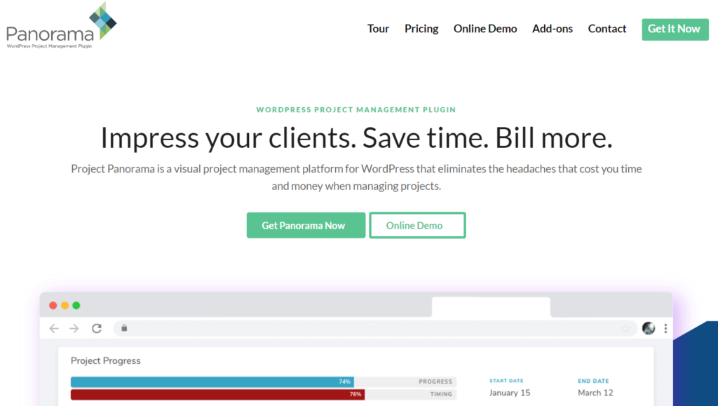 Panorama- Impress Your Clients- Project Management Software for Designers